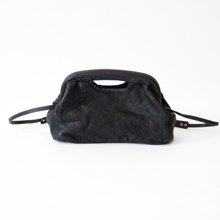LEATHER SHOULDER BAG DOTTO-S