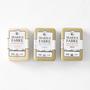 Savon de Marseille soap fragrance set of 3