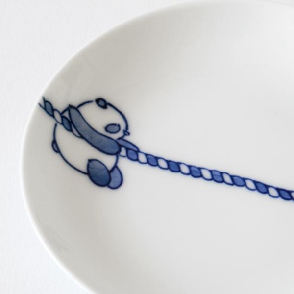 愛らしいパンダ([丸]綱引きパンダ 2枚セット)