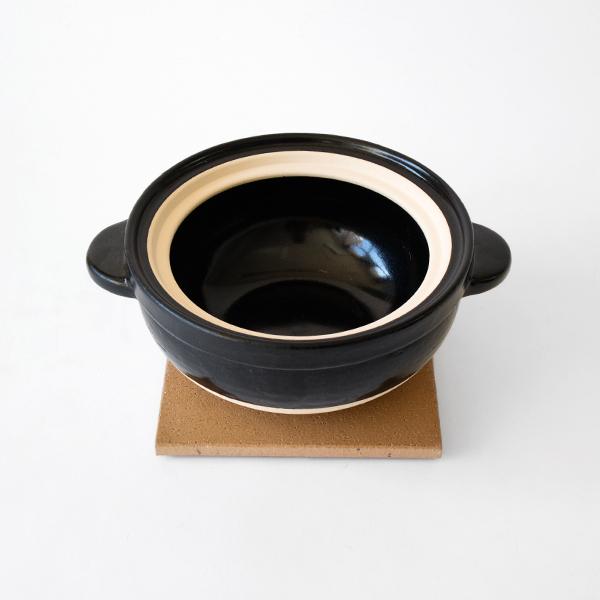 伊賀の粗土で出来た土鍋