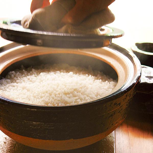 美味しい土鍋ご飯が自宅で簡単に楽しめます