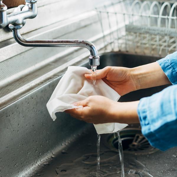 洗って何度でも使えます。