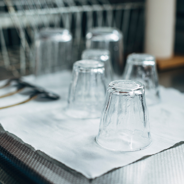 食器の水切りに。