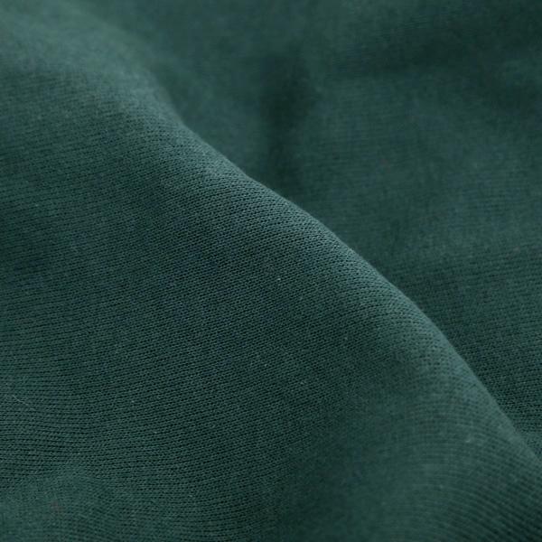 アメリカのTシャツらしいタフな生地感(DARK GREEN)