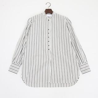 GS530301 antique like shirt WHITE STRIPE