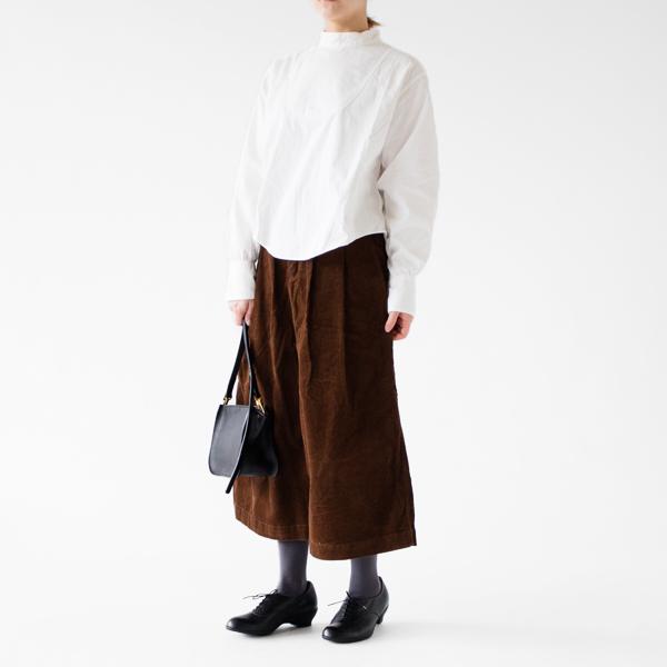 シャツと合わせて(モデル身長:162cm 着用サイズ:0)