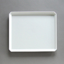 TY Square Plate White