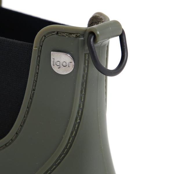 ブランド名のワンポイントと脱ぎ履きしやすいリング