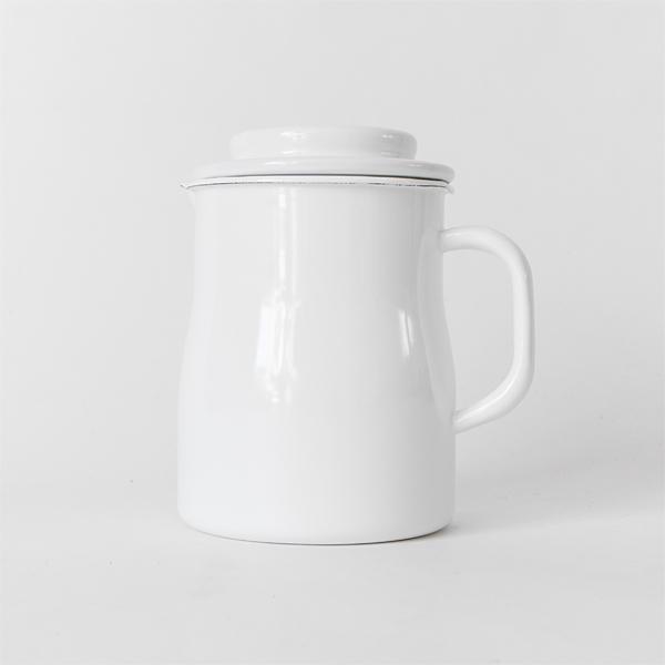 琺瑯製で衛生的に使えるオイルポット