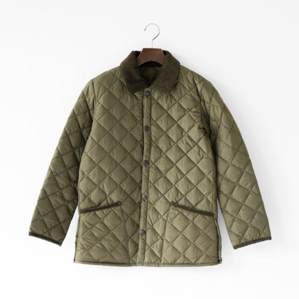 キルティングジャケット NEW LIDDESDALE NYLON OLIVE