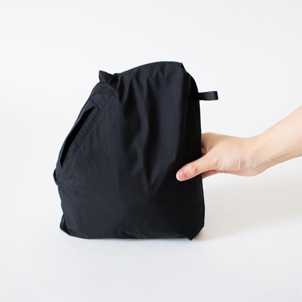 持ち運びに便利なパッカブルタイプ(画像は別カラー)