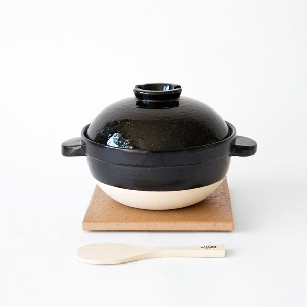 かまどさん (ご飯土鍋) (二合炊き)