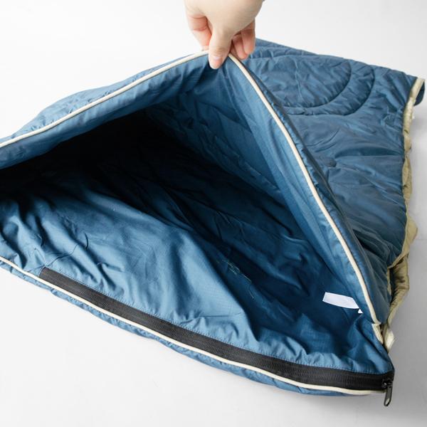 中綿には、高い保温性を誇る3D合成フェザーライトファイバーを使用