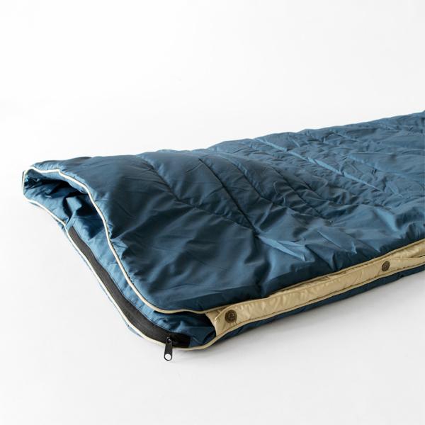 寝袋としての使用イメージ
