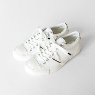 chausser leather sneakers Y103 WHITE