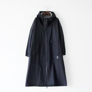 全天候型ユニセックスコート BLACK