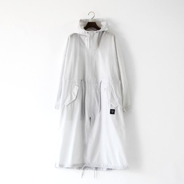 全天候型ユニセックスコート SILVER GRAY