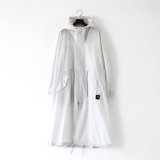 ALL WEATHER UNISEX COAT SILVER GRAY