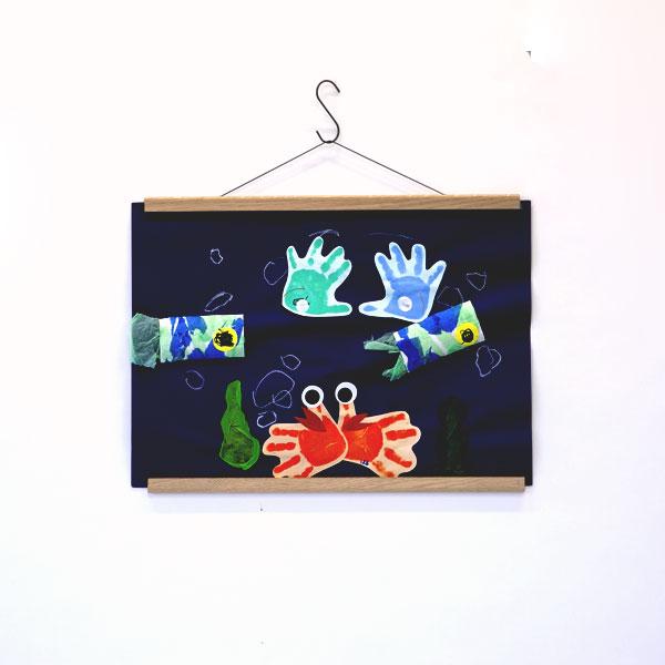 子どもの作品を飾ったりするのに便利です