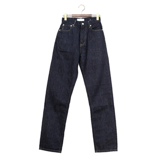 Jeanne UP128201  high waist tapered denim pants OW