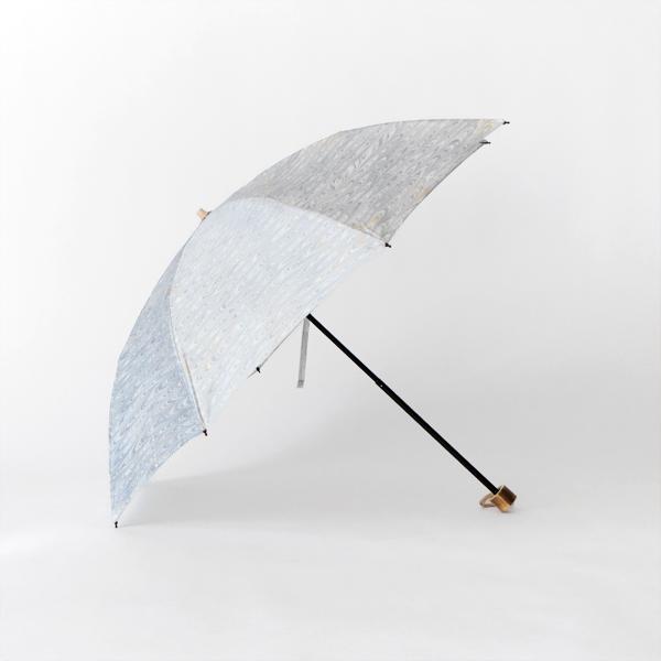 晴雨兼用 折畳み傘 墨流しマーブル(羽 50cm 8本骨 )