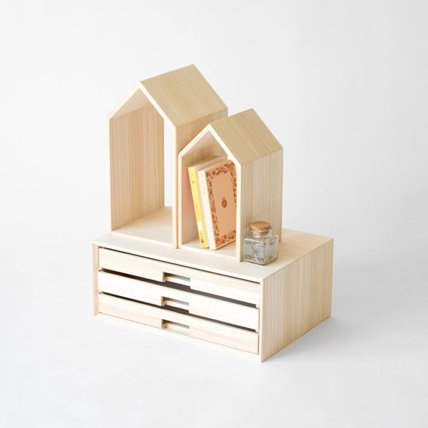 本の家と組み合わせて