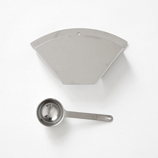 Coffee filter holder  Coffee scoop