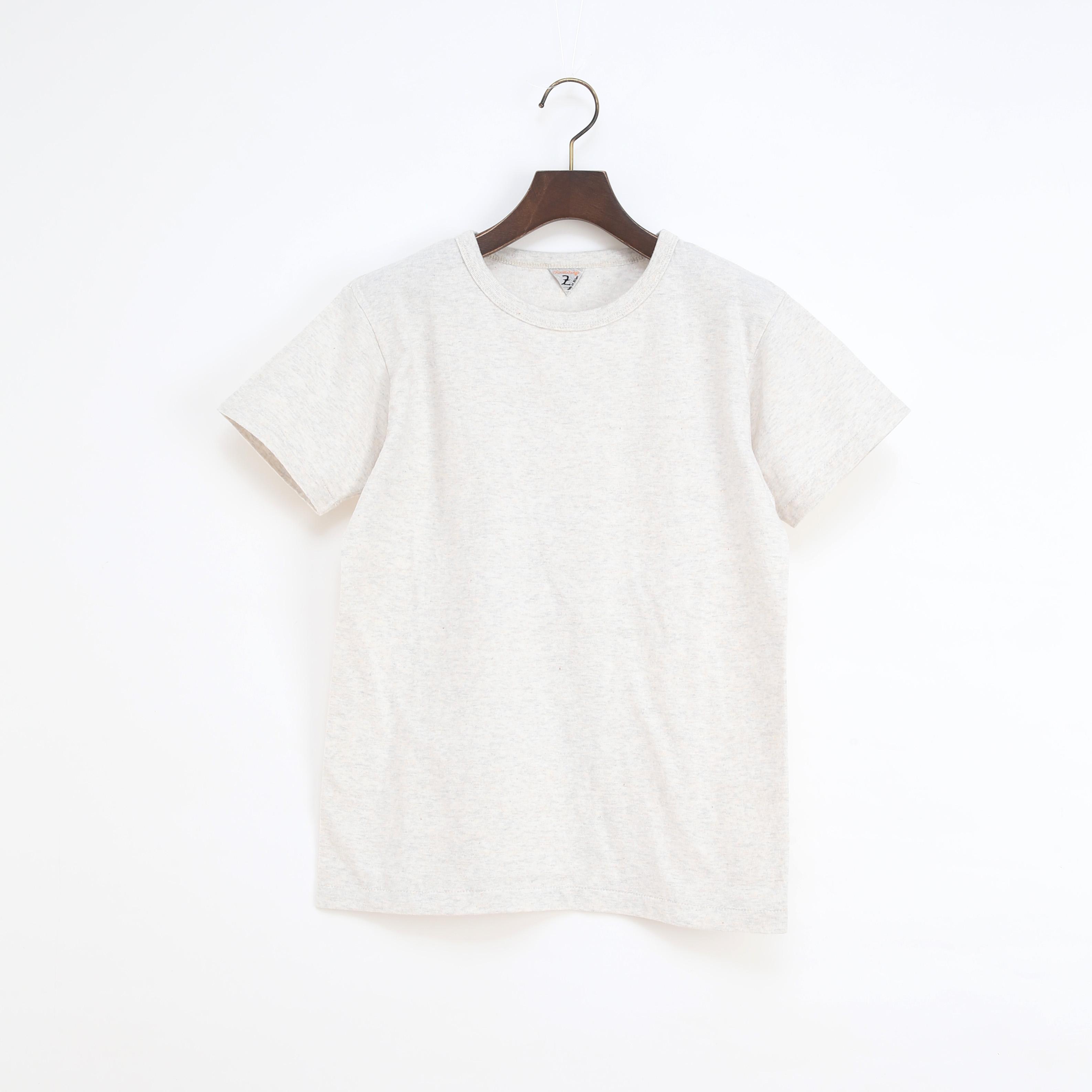ユニセックス DIZZ クルーネックTシャツ SNOW MELANGE