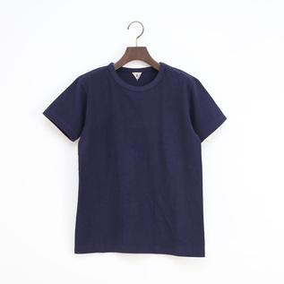 ユニセックス DIZZ クルーネックTシャツ NAVY MELANGE