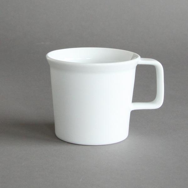 TY コーヒーカップ ハンドル ホワイト