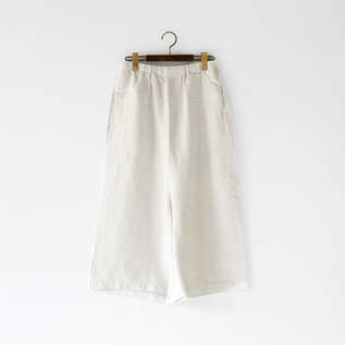 LINEN TWILL PANTS
