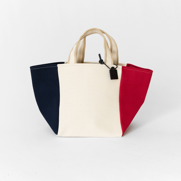 MILA SUMMER SMALL XS TRICOLOR(NAVY×WHITE×ROUGE)