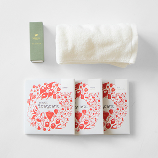 Fragrant bath aroma oil gift