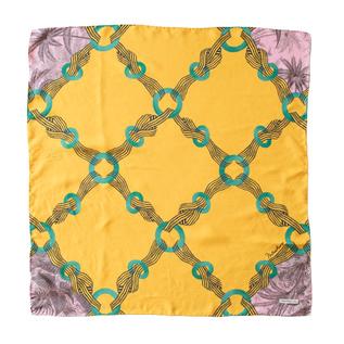MANTERO シルクツイルスカーフ (70×70)