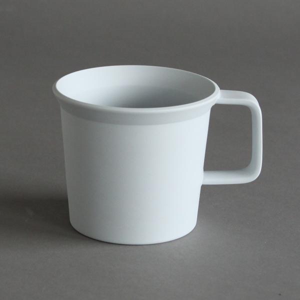 TY コーヒーカップ ハンドル グレー
