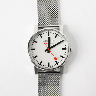 腕時計 エヴォ メンズ ホワイト×メッシュ