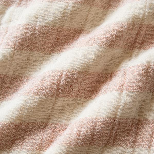 通気性・吸水性も優れたガーゼとパイルの二重織り