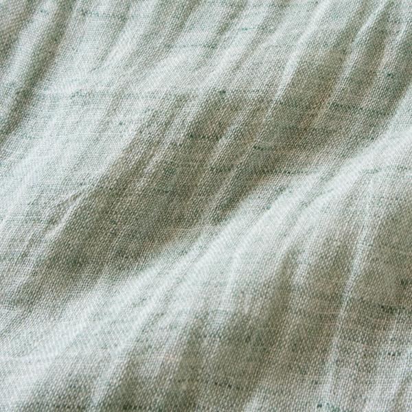 生地アップ(melange green)