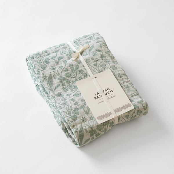 テーブルクロスブランケット(white aspen green)