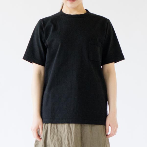 女性モデル身長:162cm 着用サイズ:S(BLACK)
