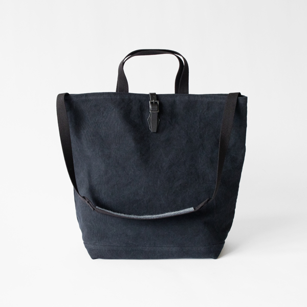 21oz CANVAS / 2WAY GROCERY TOTE トートバッグ(BLACK)