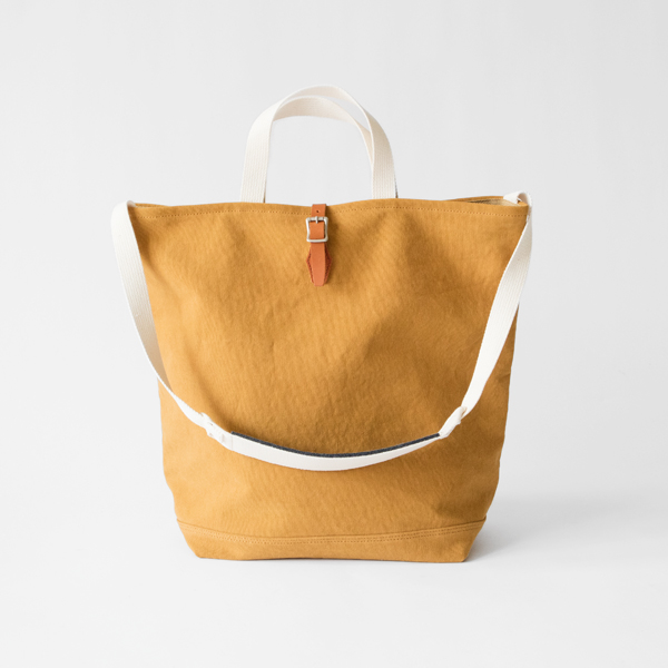 21oz CANVAS / 2WAY GROCERY TOTE トートバッグ(CAMEL)