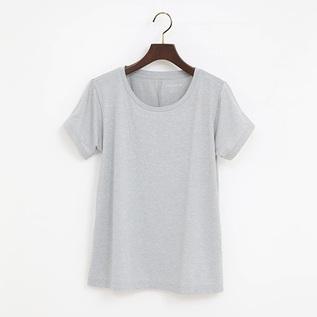 ALL DAY ACTIVE  高機能Tシャツ MEDIUM GREY