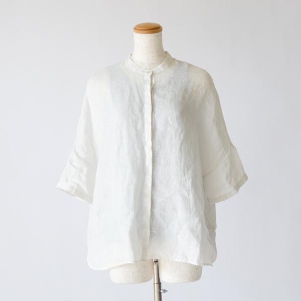 白シャツとLIGHT GRAY