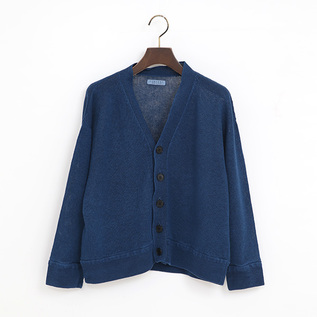 BELGIAN LINEN SHORT LENGTH CARDIGAN