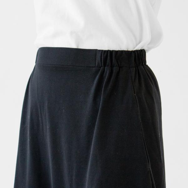 すっきりとした腰回りのデザイン(BLACK)