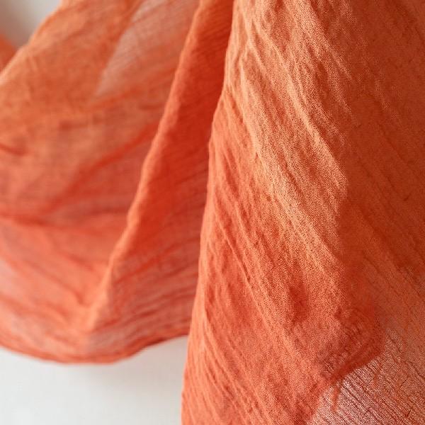 家で染める草木染めキット リネンコットンストール