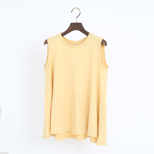LINDA フレアノースリーブシャツ