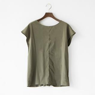 YOGI CLOTH FRENCH TOP DARK OLIVE