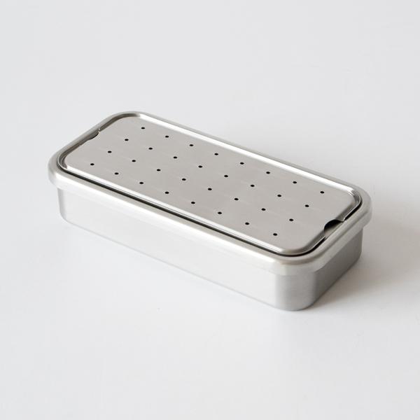 水切り板は保管の際には蓋としても使用できます。